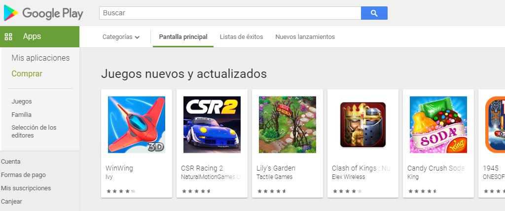 Descargar Play Store Gratis para PC
